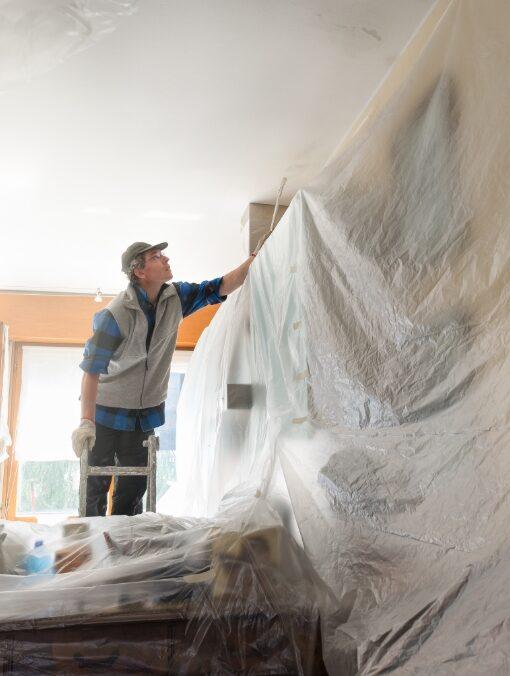 O nosso sistema de pintura é rápido e econômico.